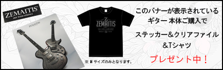 zemaitisクリアファイルプレゼント