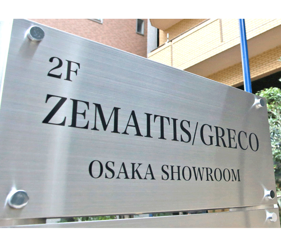 ZEMAITIS/GRECO OSAKA SHOW ROOM