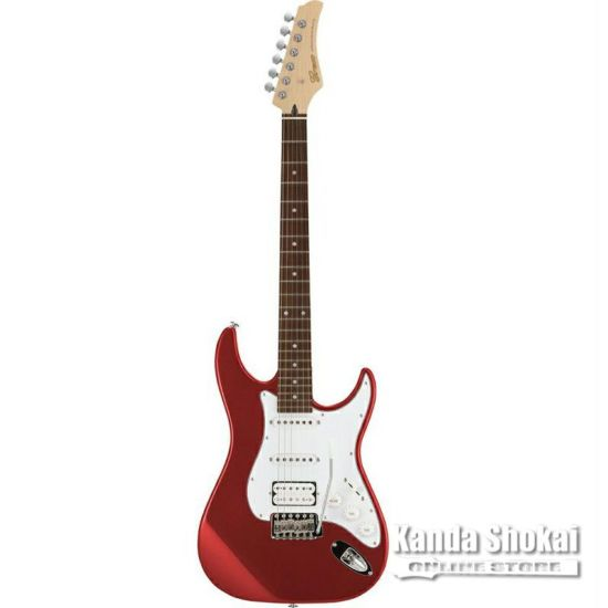 Greco WS-STD SSH, Metallic Red / Rosewood Fingerboardの商品画像1