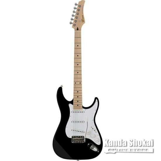 Greco WS-STD, Matt Black / Maple Fingerboardの商品画像1