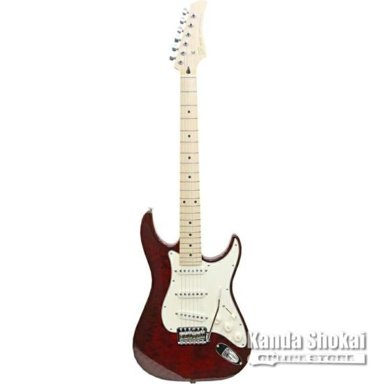 Greco WS-Quilt 3S Trancelucent Red / Maple Fingerboardの商品画像1