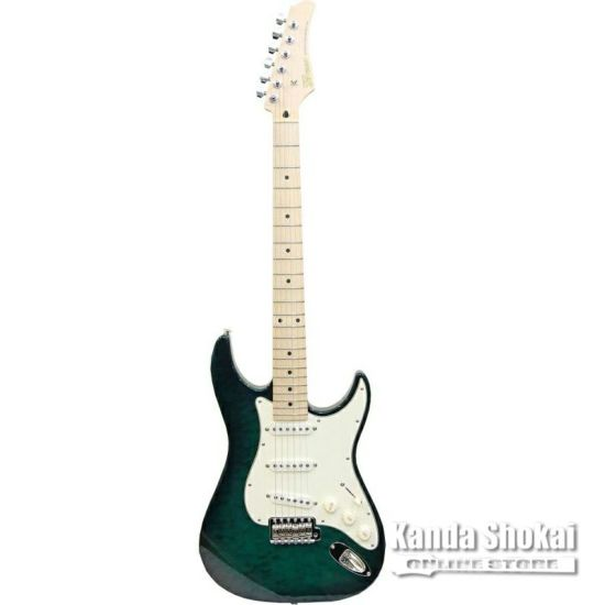 Greco WS-Quilt 3S Trancelucent Green / Maple Fingerboardの商品画像1