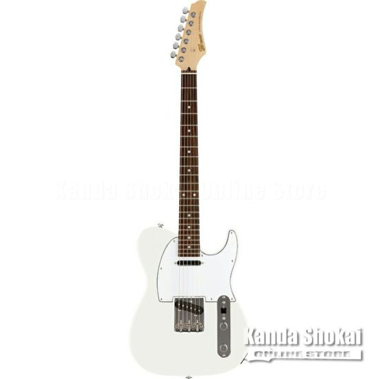 Greco WST-STD, White / Rosewood Fingerboardの商品画像1