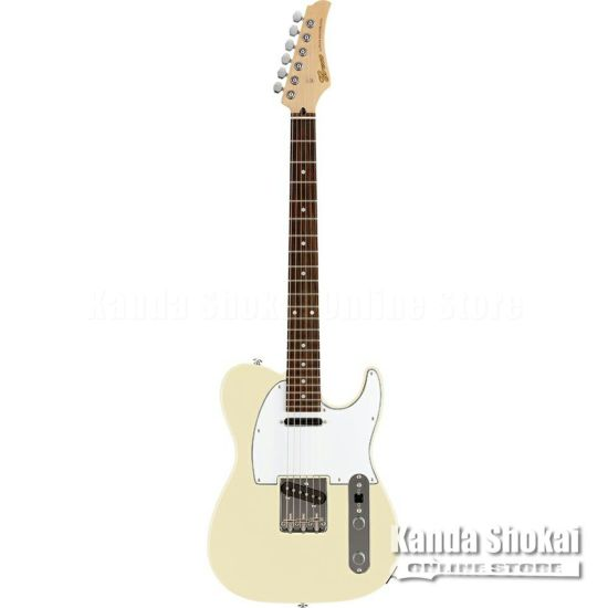 Greco WST-STD, Aged White / Rosewood Fingerboardの商品画像1