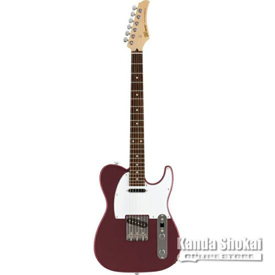 Greco WST-STD, Burgundy / Rosewood Fingerboardの商品画像1