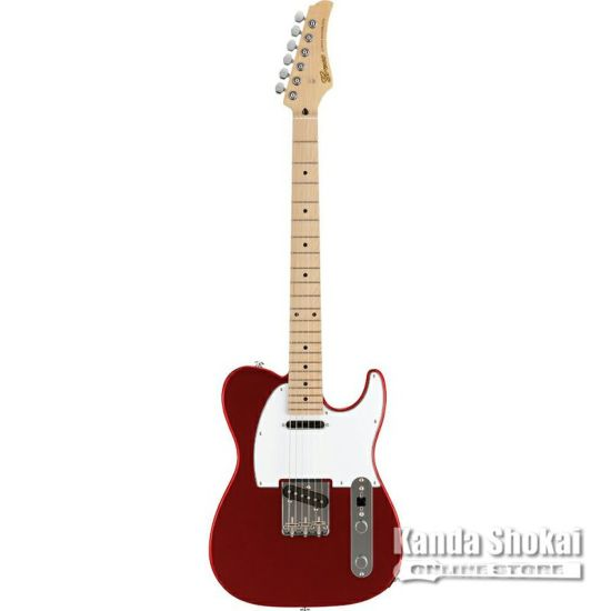 Greco WST-STD, Metallic Red / Maple Fingerboardの商品画像1
