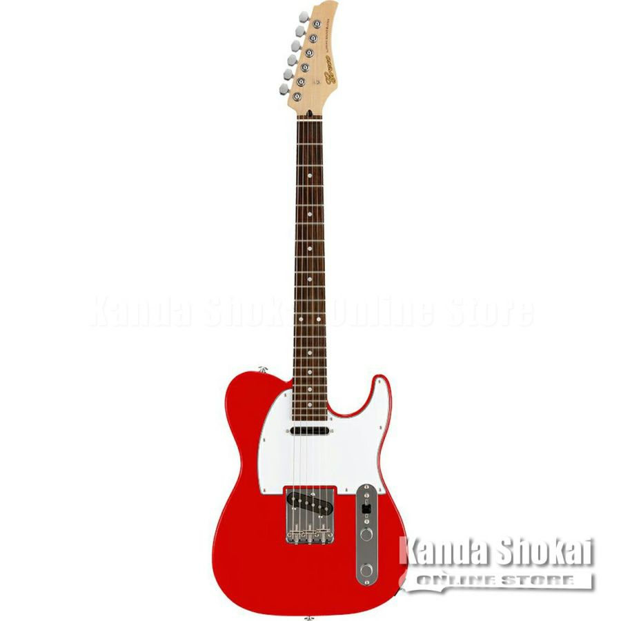 Greco WST-STD, Red / Rosewood Fingerboardの商品画像1