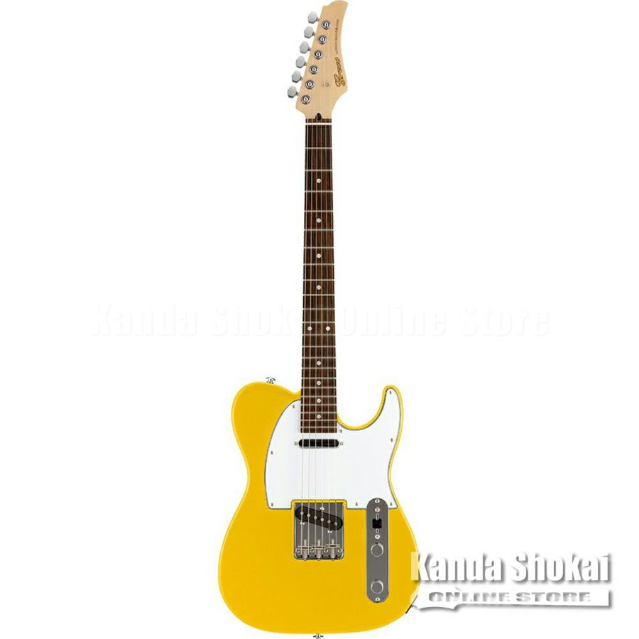 Greco WST-STD, Yellow / Rosewood Fingerboardの商品画像1