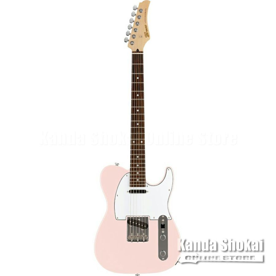 Greco WST-STD, Light Pink / Rosewood Fingerboardの商品画像1