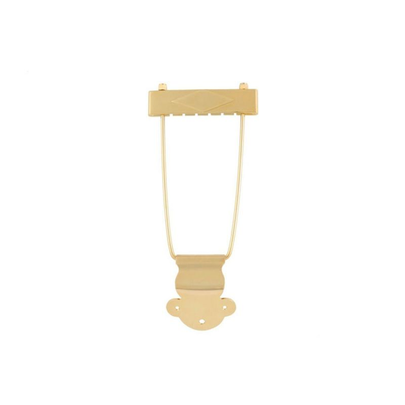 Allparts TP-0410-002 Gold Trapeze Tailpiece [6009]の商品画像1