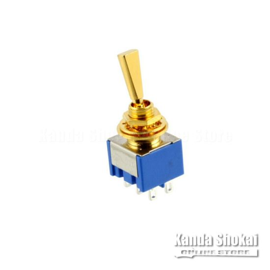 Allparts EP-0080-002 Gold On On On Mini Switch [1019]の商品画像1