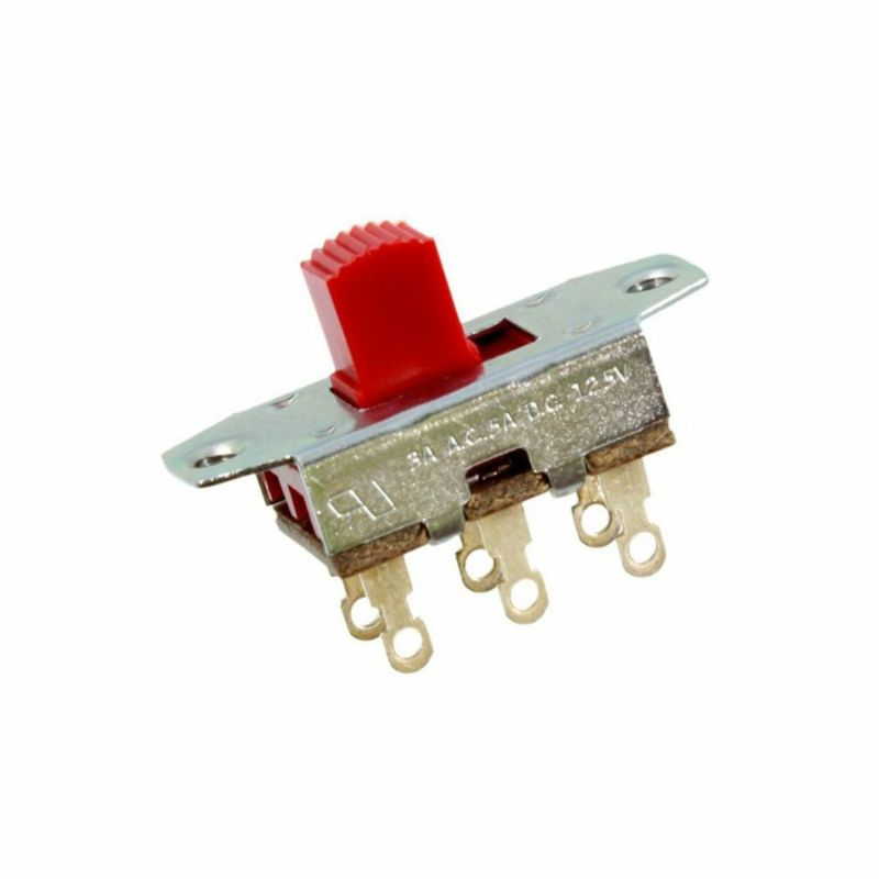 Allparts EP-0260-026 Red On-On Slide Switch [1011]の商品画像1