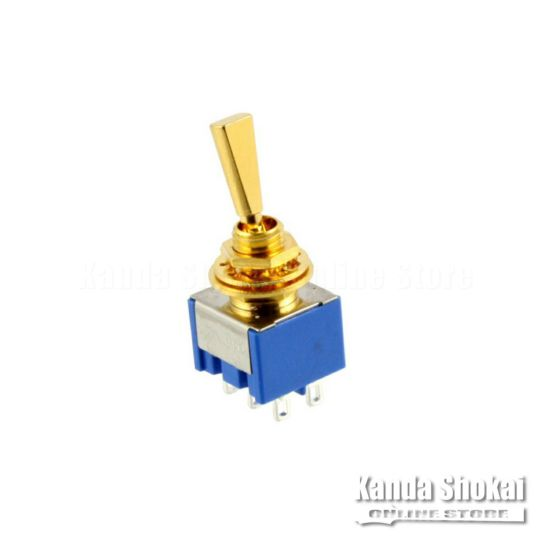 Allparts EP-0082-002 Gold On Off On Mini Switch [1025]の商品画像1