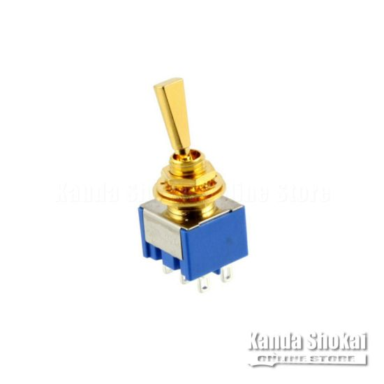 Allparts EP-0081-002 Gold On On Mini Switch [1022]の商品画像1