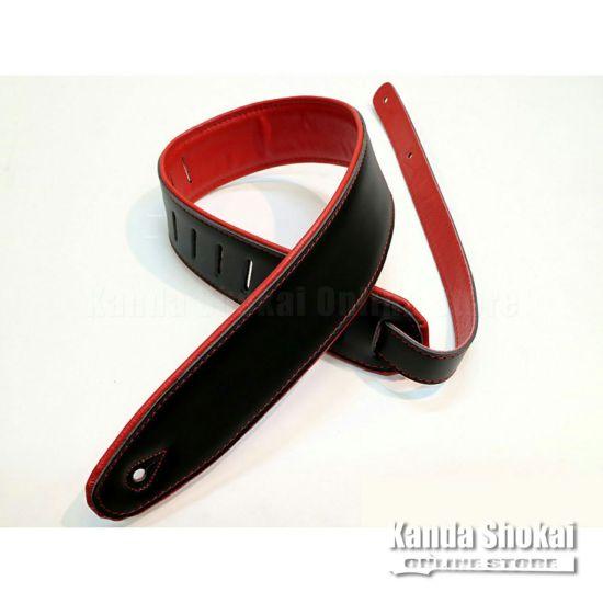 Renegade Super Deluxe Rolled Edge Leather, Neoprene Insert-Black / Redの商品画像1