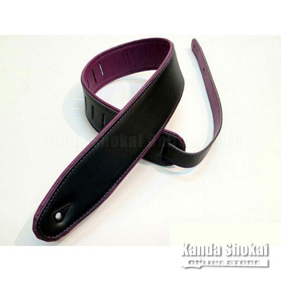 Renegade Super Deluxe Rolled Edge Leather, Neoprene Insert-Black / Purpleの商品画像1
