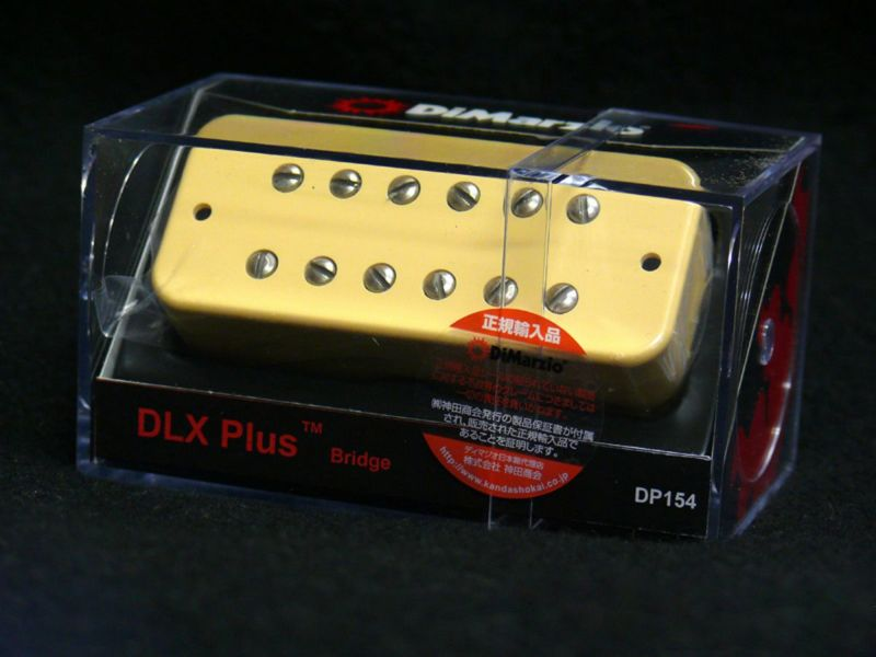 [Outlet] DiMarzio DP154CR DLX Plus Bridgeの商品画像1
