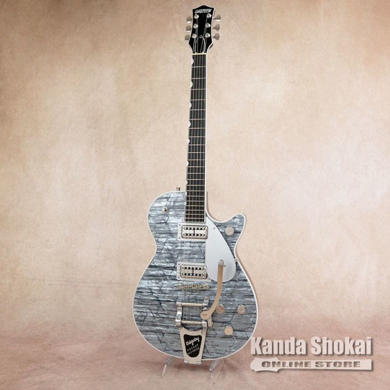 Gretsch G6129T Players Edition Jet FT with Bigsby, Light Blue Pearl の商品画像1