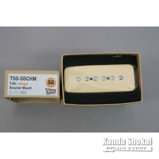 TV Jones T-90 Bridge, Cream (Chrome Screws)の商品画像1