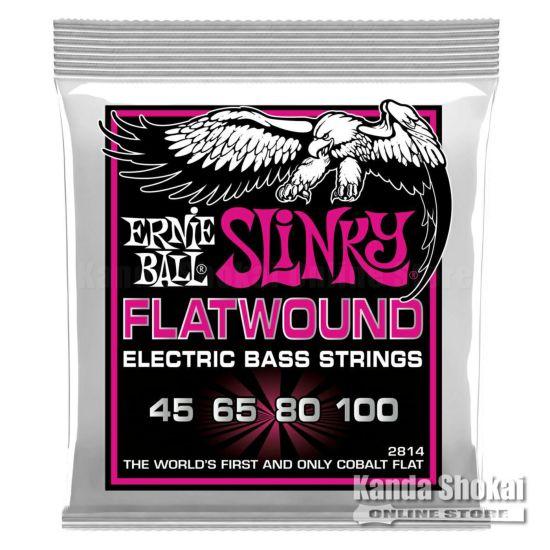 Ernie Ball Super Slinky Flatwound Bass [#2814]の商品画像1