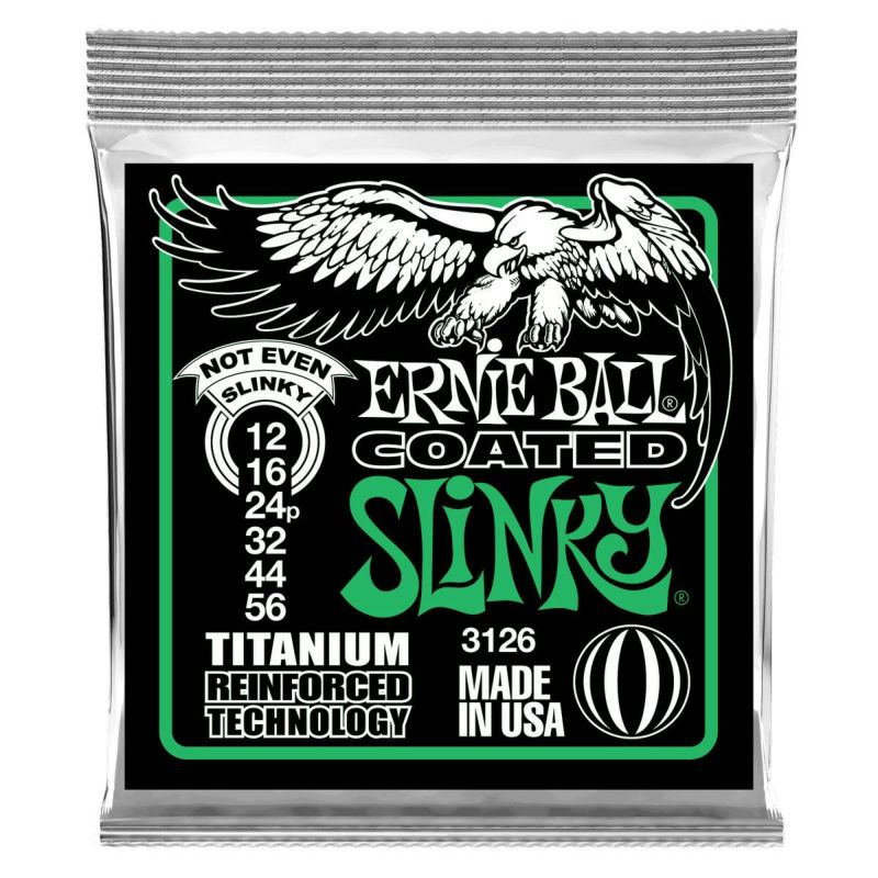 Ernie Ball Coated Not Even Slinky 12-56 [#3126]の商品画像1