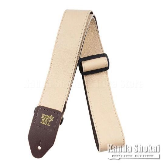 Ernie Ball 2 Tri-Glide Italian Leather Strap Tan [#4136]の商品画像1