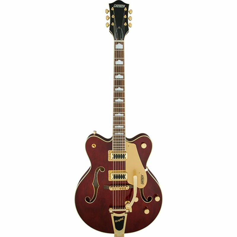 Gretsch G5422TG Electromatic Hollow Body Double-Cut with Bigsby, Walnut Stainの商品画像1