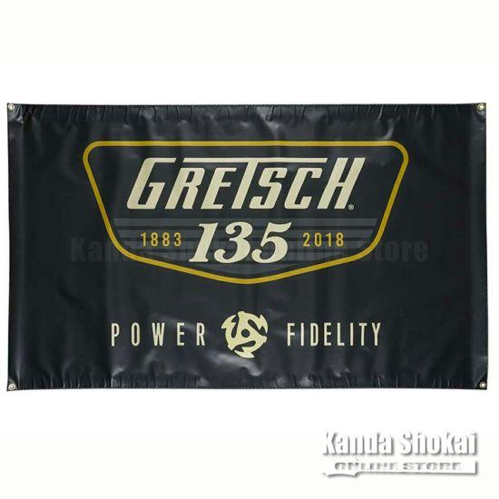 Gretsch 135th Anniversary Bannerの商品画像1
