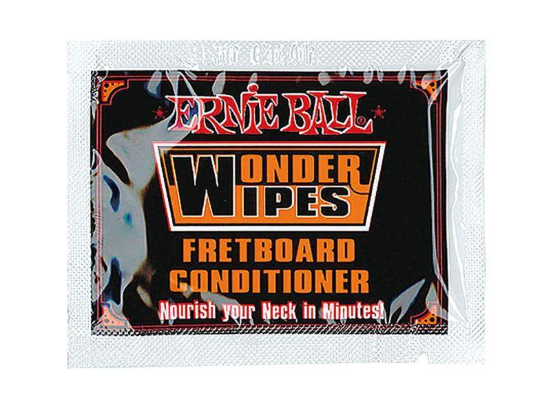 Ernie Ball Wonder Wipes Fretboard Conditioner (20 pcs) [#4247]の商品画像1