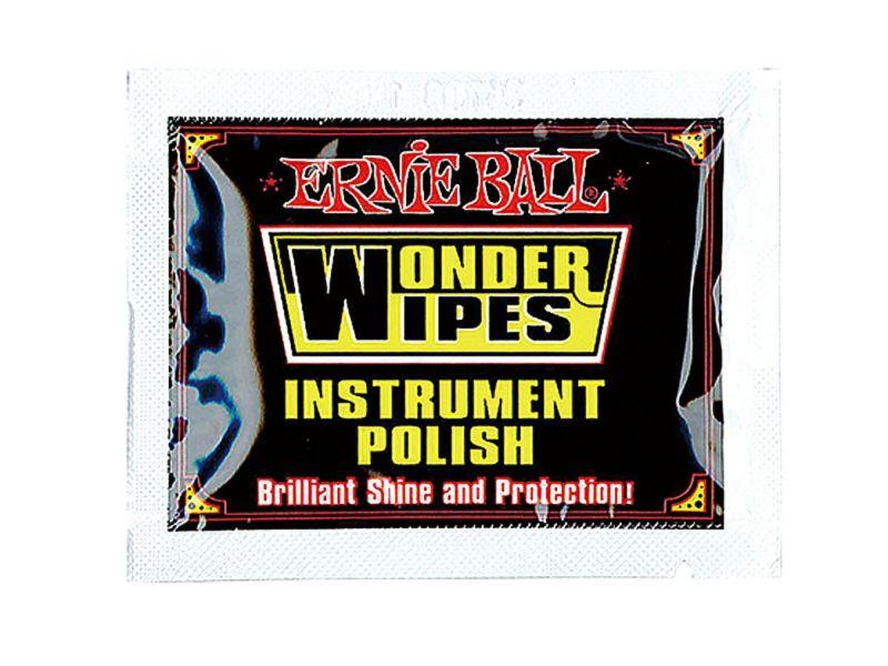 Ernie Ball Wonder Wipes Instrument Polish (20 pcs) [#4248]の商品画像1