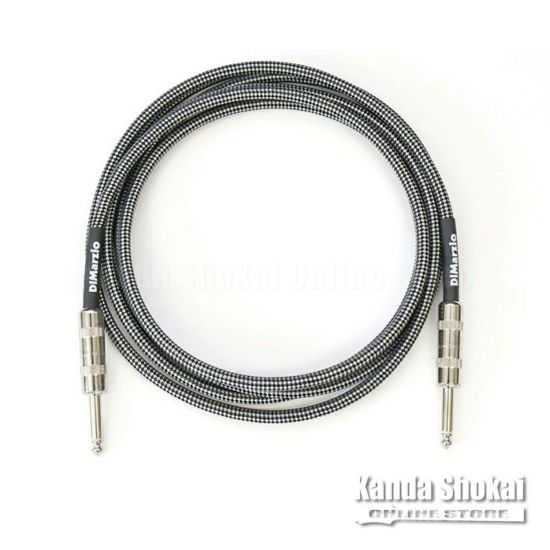 [Outlet] DiMarzio Guitar Cable EP1715SS Black/Gray 4.6mの商品画像1