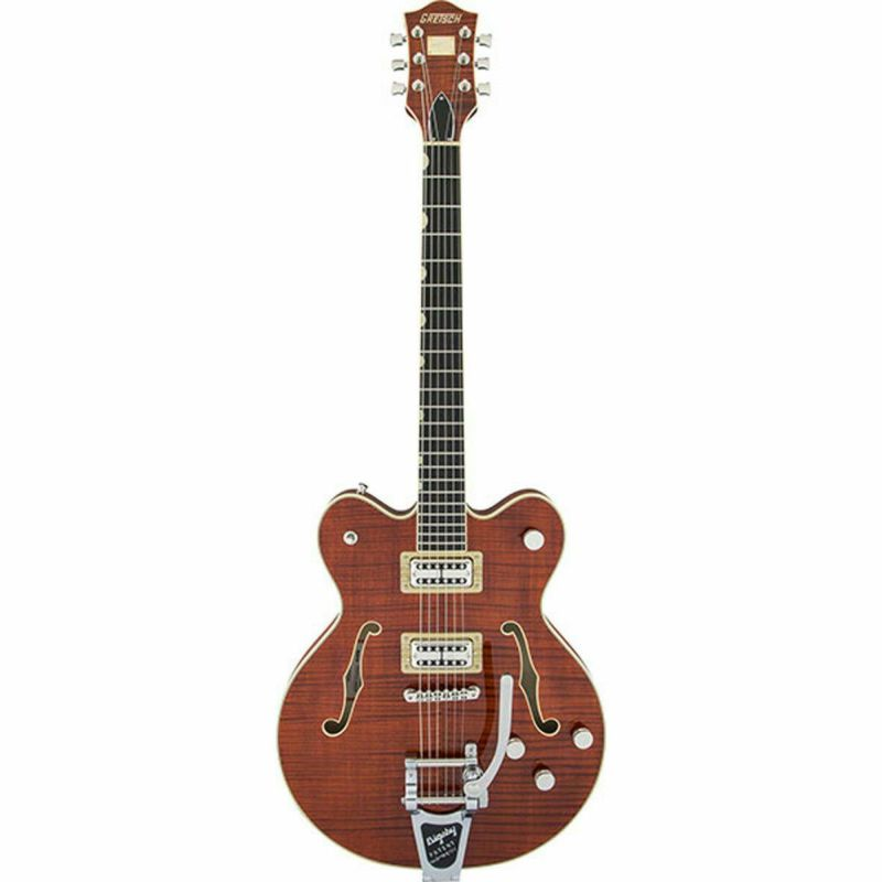 Gretsch G6609TFM Players Edition Broadkaster Center Block Double-Cut Bourbon Stainの商品画像1
