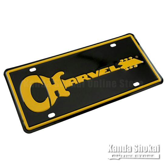 Charvel Logo License Plateの商品画像1