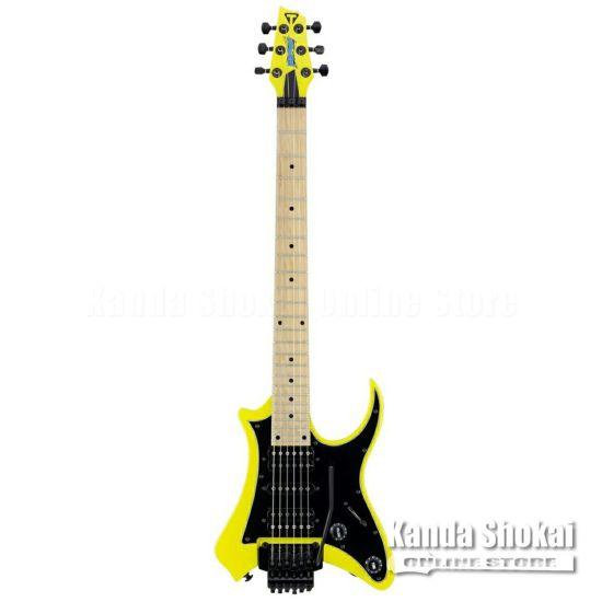 Traveler Guitar Vaibrant Standard V88S, Electric Yellowの商品画像1