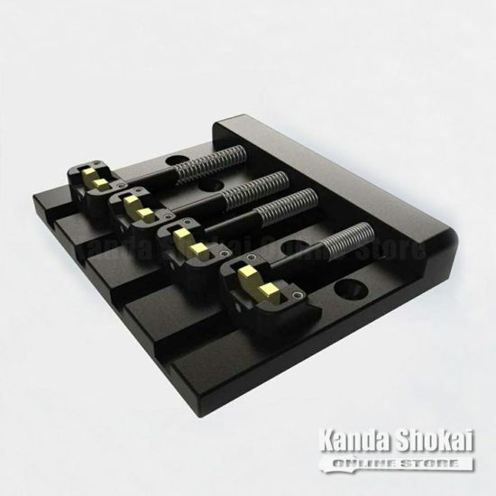 Hipshot Bass Bridge 4 String KickAss, Blackの商品画像1