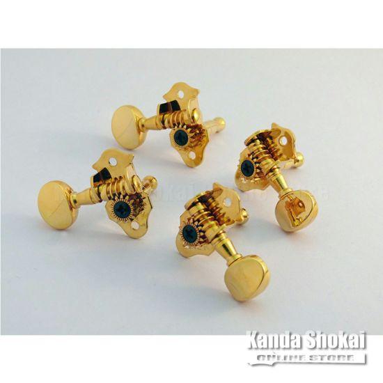 Grover Ukulele Peg 8, Goldの商品画像1