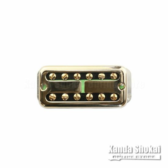 TV Jones Ray Butts Ful-Fidelity Filter'Tron Blank Cover Neck, Goldの商品画像1