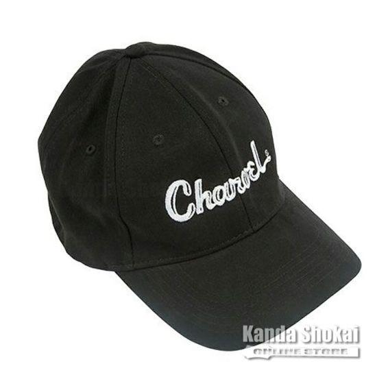 Charvel Toothpaste Logo Flexfit Hat, Black, Small / Mediumの商品画像1