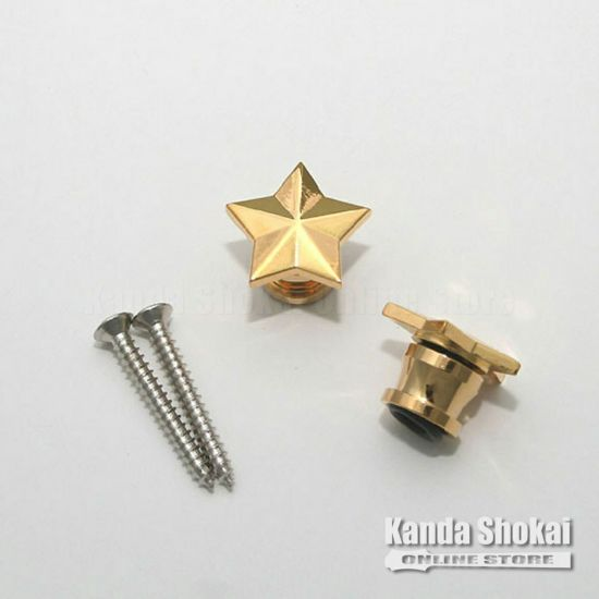 Grover Strap Button 630 STAR, Goldの商品画像1
