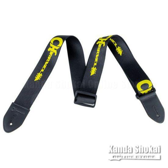 Charvel Logo Strap, Black / Yellowの商品画像1