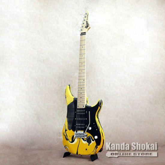 Vigier Excalibur Supra HSH VE6-CVS1, Rock Art design / Maple Fingerboard #2 [S/N: 180299]の商品画像1