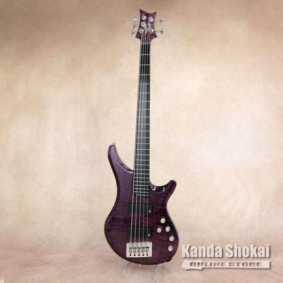 Vigier Arpege 5 strings V5ECC, Amethyst Purple [S/N: 0549]の商品画像1