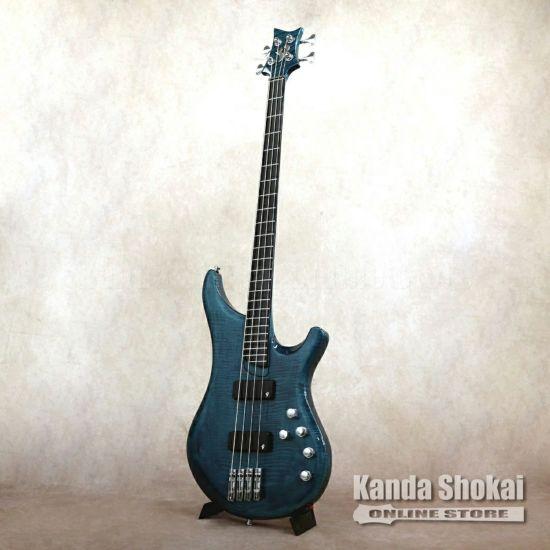Vigier Arpege 4 Strings V4ECC, Deep Blue [S/N: 0547]の商品画像1