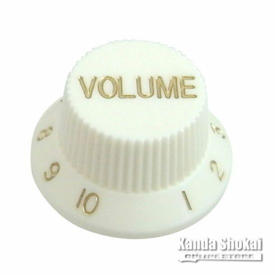 Greco Volume Knob for WS-STD, Whiteの商品画像1