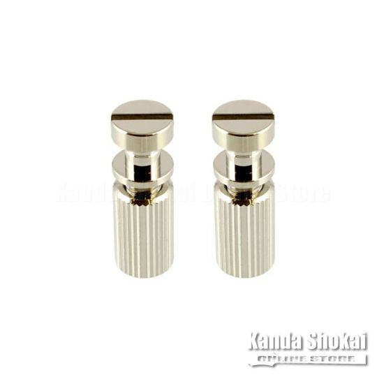Allparts TP-0455-001 Nickel Studs and Anchors for Stop Tailpiece [6105]の商品画像1