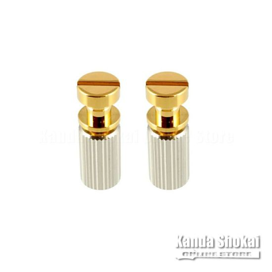 Allparts TP-0455-002 Gold Studs and Anchors for Stop Tailpiece [6106]の商品画像1
