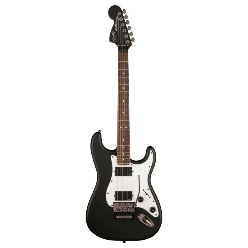 Squier Contemporary Active Stratocaster HH Reverse, Flat Blackの商品画像1