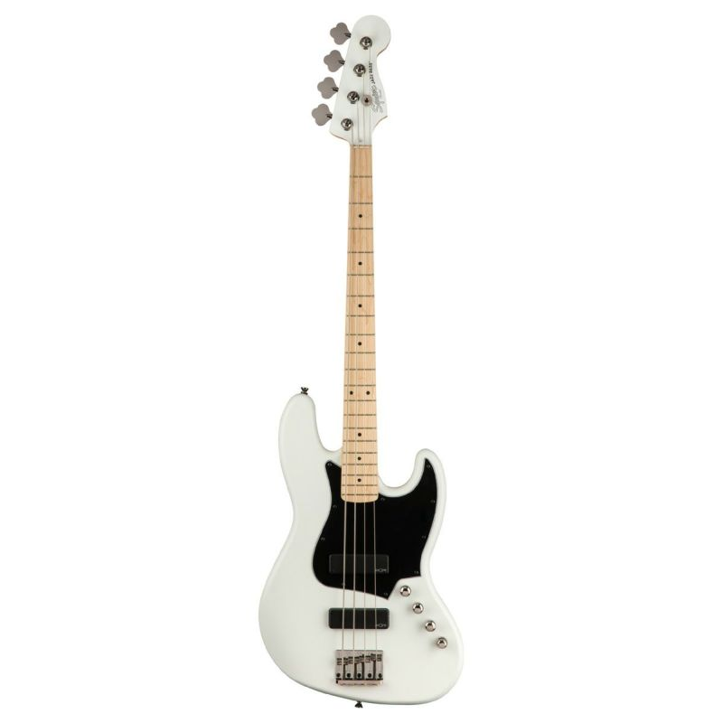 Squier Contemporary Active Jazz Bass HH, Flat Whiteの商品画像1