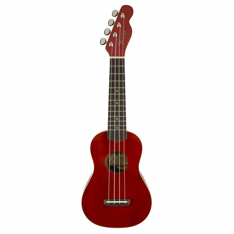[Outlet] Fender Venice Soprano Ukulele, Cherryの商品画像1