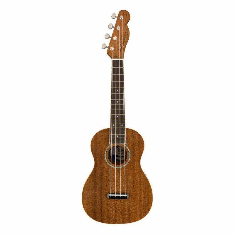 [Outlet] Fender Zuma Concert Ukulele, Naturalの商品画像1